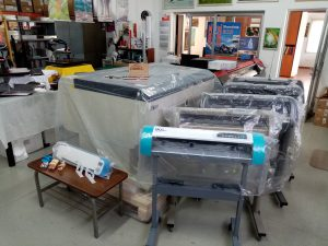 High Quality and Standards Plotters, Laser Machines and Digital Printing Machines